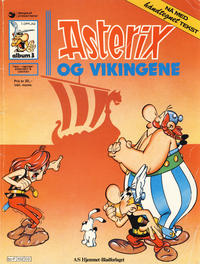 Cover Thumbnail for Asterix (Hjemmet / Egmont, 1969 series) #3 - Asterix og vikingene [7. opplag]