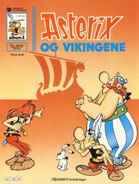 Cover Thumbnail for Asterix (Hjemmet / Egmont, 1969 series) #3 - Asterix og vikingene [8. opplag]