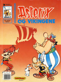 Cover Thumbnail for Asterix (Hjemmet / Egmont, 1969 series) #3 - Asterix og vikingene [9. opplag]