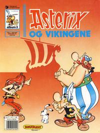 Cover Thumbnail for Asterix (Hjemmet / Egmont, 1969 series) #3 - Asterix og vikingene [10. opplag]