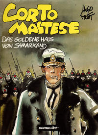 Cover Thumbnail for Corto Maltese (Carlsen Comics [DE], 1981 series) #[8] - Das goldene Haus von Samarkand