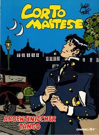 Cover Thumbnail for Corto Maltese (Carlsen Comics [DE], 1981 series) #[9] - Argentinischer Tango