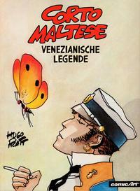 Cover Thumbnail for Corto Maltese (Carlsen Comics [DE], 1981 series) #[7] - Venezianische Legende