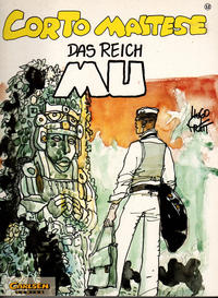 Cover Thumbnail for Corto Maltese (Carlsen Comics [DE], 1988 series) #12 - Das Reich Mu