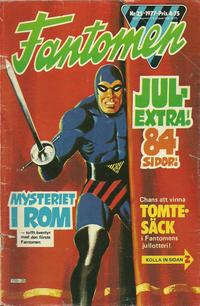Cover Thumbnail for Fantomen (Semic, 1963 series) #25/1977