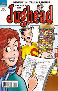 Cover Thumbnail for Archie's Pal Jughead Comics (Archie, 1993 series) #210