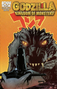 Cover Thumbnail for Godzilla: Kingdom of Monsters (IDW, 2011 series) #9 [Standard cover]