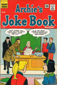 Cover Thumbnail for Archie's Joke Book Magazine (Archie, 1953 series) #98