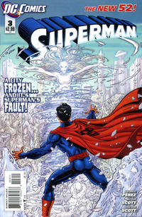 Cover Thumbnail for Superman (DC, 2011 series) #3 [Direct Sales]