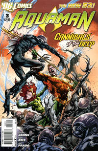 Cover for Aquaman (DC, 2011 series) #3