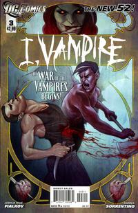 Cover Thumbnail for I, Vampire (DC, 2011 series) #3