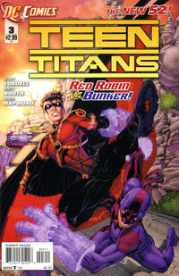Cover Thumbnail for Teen Titans (DC, 2011 series) #3 [Direct Sales]