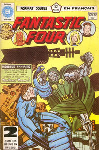 Cover Thumbnail for Fantastic Four (Editions Héritage, 1968 series) #89/90