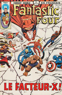 Cover Thumbnail for Fantastic Four (Editions Héritage, 1968 series) #141/142