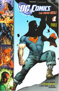 Cover Thumbnail for DC Comics: The New 52 (DC, 2011 series) #1