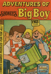 Cover for Adventures of Big Boy (Paragon Products, 1976 series) #25