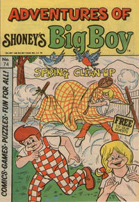 Cover Thumbnail for Adventures of Big Boy (Paragon Products, 1976 series) #74