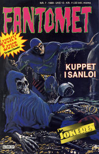 Cover Thumbnail for Fantomet (Semic, 1976 series) #7/1989