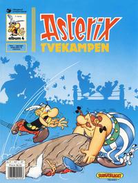 Cover Thumbnail for Asterix (Hjemmet / Egmont, 1969 series) #4 - Tvekampen [8. opplag]