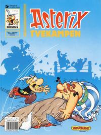 Cover Thumbnail for Asterix (Hjemmet / Egmont, 1969 series) #4 - Tvekampen [9. opplag]