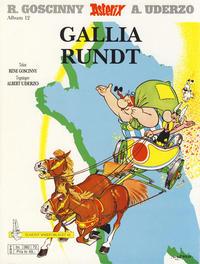 Cover Thumbnail for Asterix (Hjemmet / Egmont, 1969 series) #12 - Gallia rundt [9. opplag [8. opplag]]