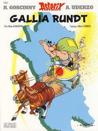 Cover Thumbnail for Asterix (Hjemmet / Egmont, 1969 series) #12 - Gallia rundt [9. opplag]