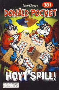Cover Thumbnail for Donald Pocket (Hjemmet / Egmont, 1968 series) #381