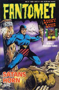 Cover Thumbnail for Fantomet (Semic, 1976 series) #9/1989