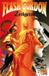 Cover Thumbnail for Flash Gordon: Zeitgeist (Dynamite Entertainment, 2011 series) #1 [Cover A (75%) Alex Ross]