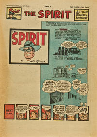 Cover Thumbnail for The Spirit (Register and Tribune Syndicate, 1940 series) #10/17/1948