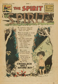 Cover Thumbnail for The Spirit (Register and Tribune Syndicate, 1940 series) #7/4/1948