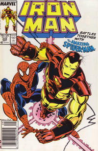 Cover for Iron Man (Marvel, 1968 series) #234 [Newsstand]