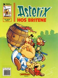 Cover Thumbnail for Asterix (Hjemmet / Egmont, 1969 series) #5 - Asterix hos britene [9. opplag]