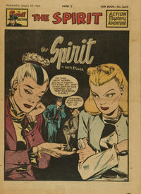 Cover Thumbnail for The Spirit (Register and Tribune Syndicate, 1940 series) #1/23/1949
