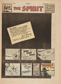 Cover Thumbnail for The Spirit (Register and Tribune Syndicate, 1940 series) #4/25/1948