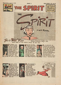 Cover Thumbnail for The Spirit (Register and Tribune Syndicate, 1940 series) #4/4/1948