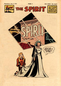 Cover Thumbnail for The Spirit (Register and Tribune Syndicate, 1940 series) #5/2/1948