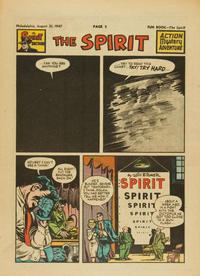 Cover Thumbnail for The Spirit (Register and Tribune Syndicate, 1940 series) #8/31/1947