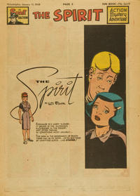 Cover Thumbnail for The Spirit (Register and Tribune Syndicate, 1940 series) #1/11/1948