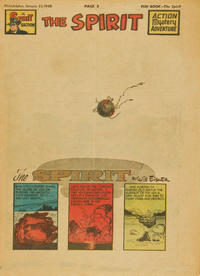 Cover Thumbnail for The Spirit (Register and Tribune Syndicate, 1940 series) #1/25/1948