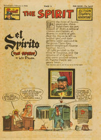 Cover Thumbnail for The Spirit (Register and Tribune Syndicate, 1940 series) #2/1/1948