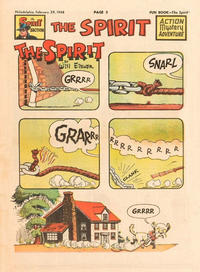 Cover Thumbnail for The Spirit (Register and Tribune Syndicate, 1940 series) #2/29/1948