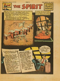 Cover Thumbnail for The Spirit (Register and Tribune Syndicate, 1940 series) #2/8/1948