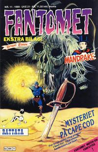 Cover Thumbnail for Fantomet (Semic, 1976 series) #11/1989
