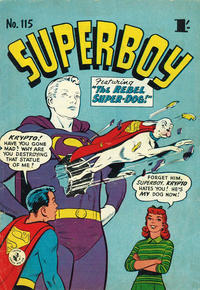 Cover Thumbnail for Superboy (K. G. Murray, 1949 series) #115