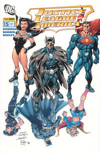 Cover Thumbnail for Justice League of America Sonderband (Panini Deutschland, 2007 series) #15 - Omega