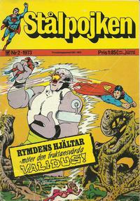Cover for Stålpojken (Williams Förlags AB, 1969 series) #2/1973