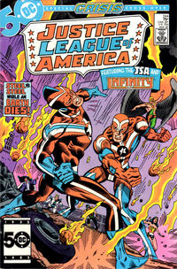 Cover Thumbnail for Justice League of America (DC, 1960 series) #244 [Direct Sales]