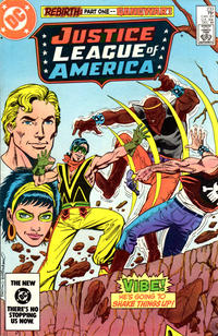 Cover Thumbnail for Justice League of America (DC, 1960 series) #233 [Direct-Sales Variant]