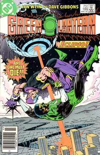 Cover Thumbnail for Green Lantern (DC, 1960 series) #186 [Newsstand]